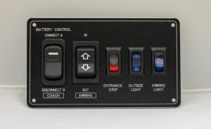 Battery Control Panel